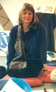 2004, Melissa teaching Karuna Training in Germany