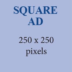 SQUARE AD SHAPE 250X250 PIXELS