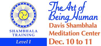 Shambhala level I seal and ad for level I in davis